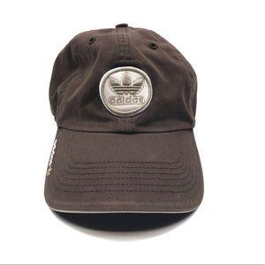 Adidas Brown Trefoil Cap